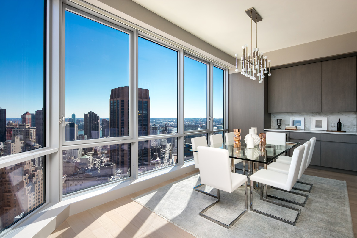 Luxury penthouse living at rental tower one sixty madison for New york penthouse rent