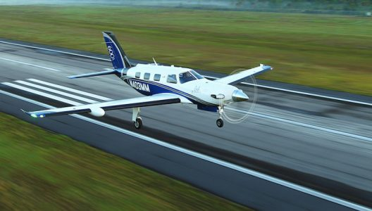 Flying Piper Aircraft M600 Turboprop