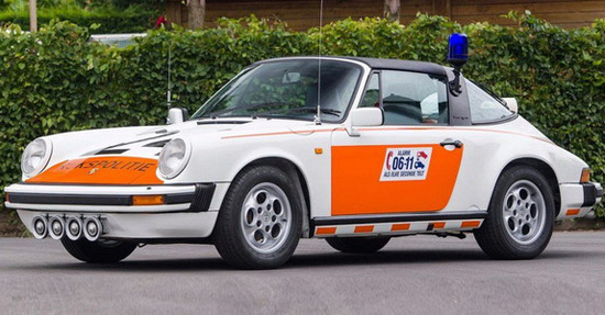 Dutch Police Porsche 911 Targa To Be Sold At Auction