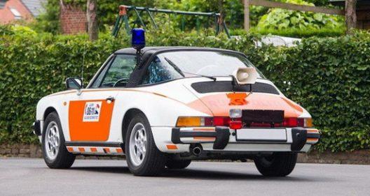 Dutch Police Porsche 911 Targa