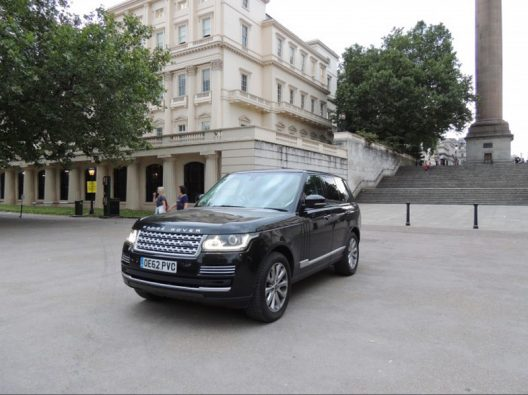 Prince William & Catherine's Range Rover Vogue SE