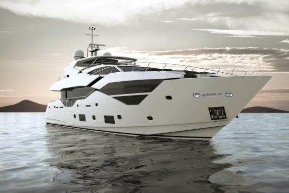 Sunseeker's New 95 Superyacht