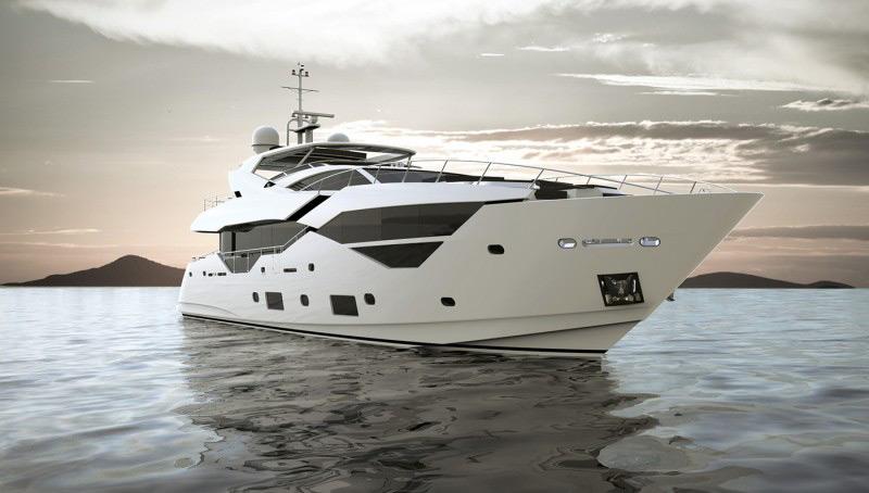 Sunseeker's New 95 Superyacht