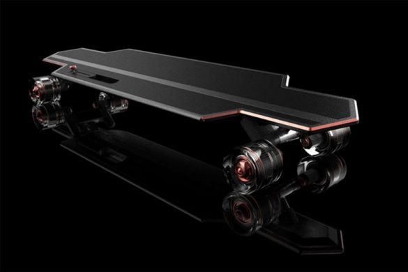 Tag Heuer Board - Innovative E-Skateboard