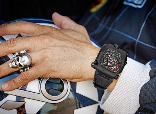 Urwerk's EMC TimeHunter X-Ray Watch
