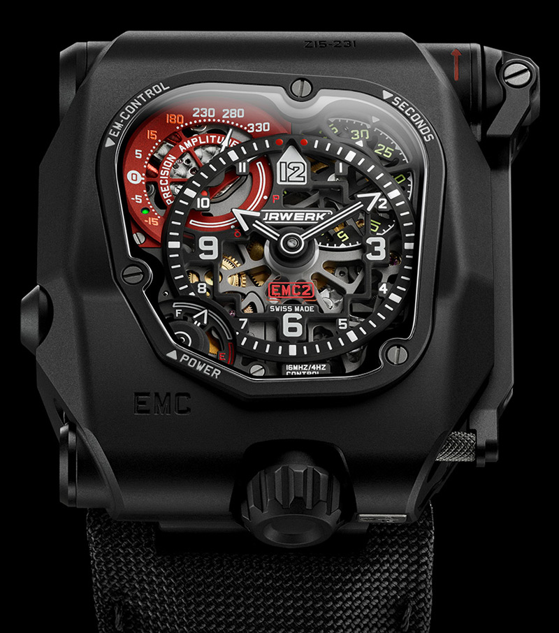 Urwerk's EMC TimeHunter X-Ray Watch