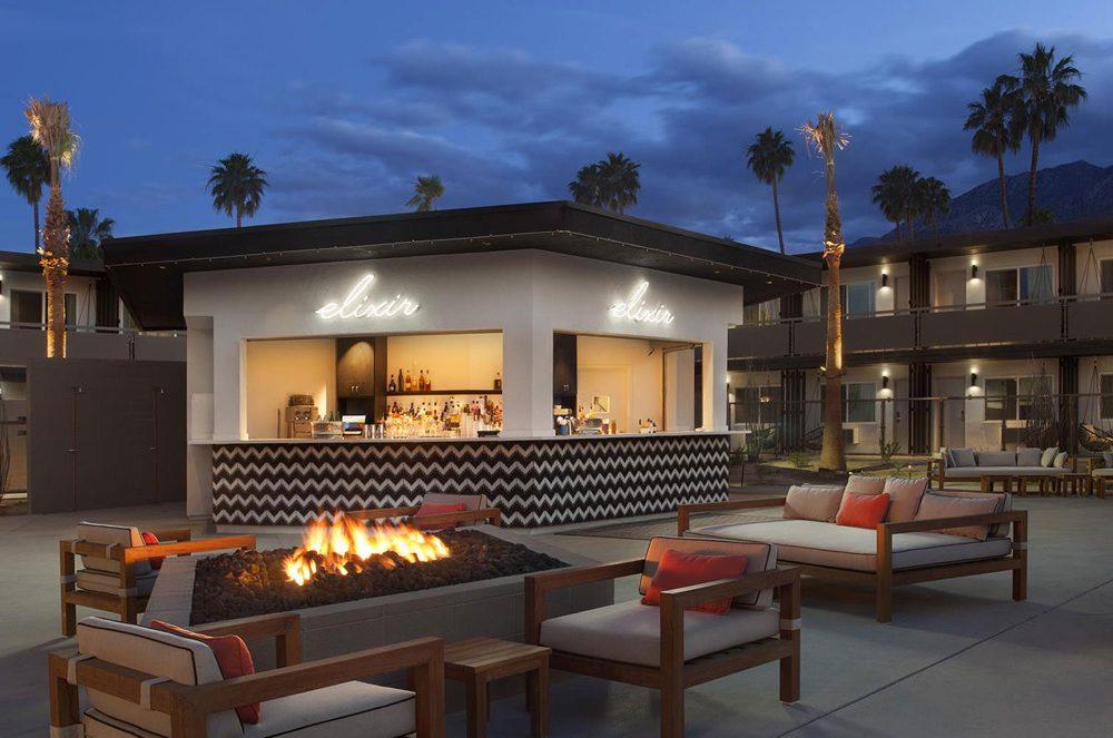 $15 Million Makeover - Boutique Hotel V Palm Springs