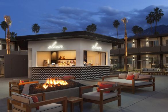 $15 Million Makeover - Boutique Hotel V Palm Springs