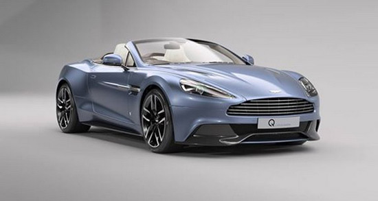 Aston Martin Vanquish Volante Inspired By AM37 Powerboat