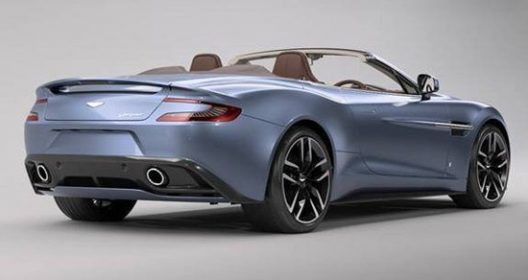 Aston Martin Vanquish Volante Inspired By AM37 Powerboat