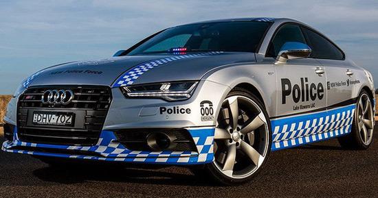 Audi S7 Sportback For Police In Australia