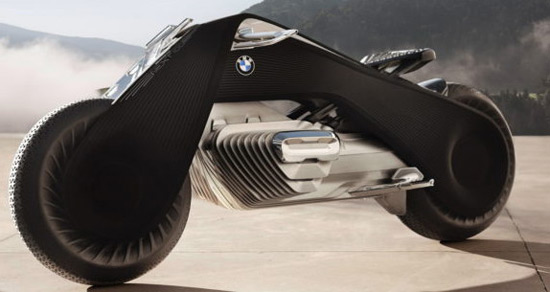 Motorcycle Of The Future: BMW Motorrad VISION NEXT 100