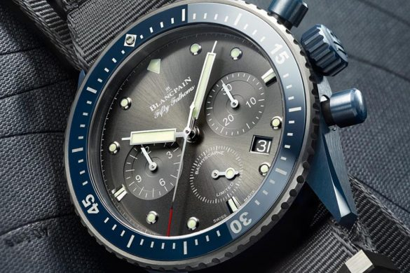 Blancpain Fifty Fathoms Bathyscaphe Flyback Chronograph Ocean Commitment II