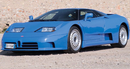 Bugatti EB110 GT At Auction