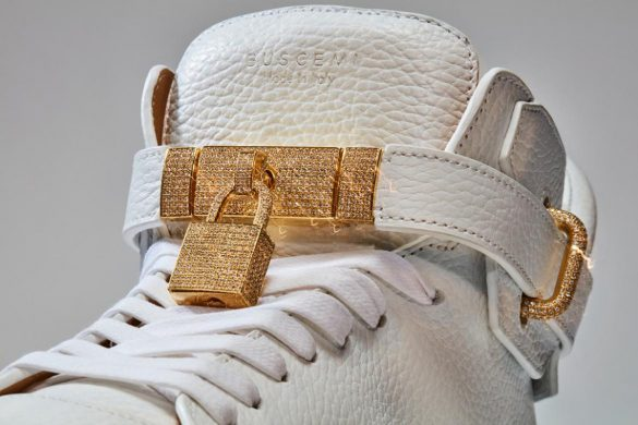Buscemi's New 100 MM Diamond Sneakers