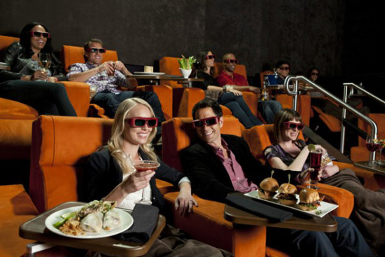Dine-In Theater In Manhattan