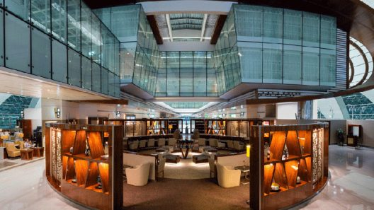 Dubai International Business Lounge
