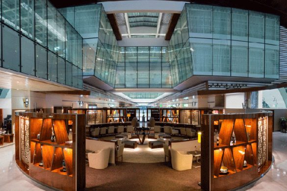 Dubai International Business Lounge