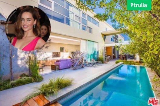 Emilia Clarke's New Villa