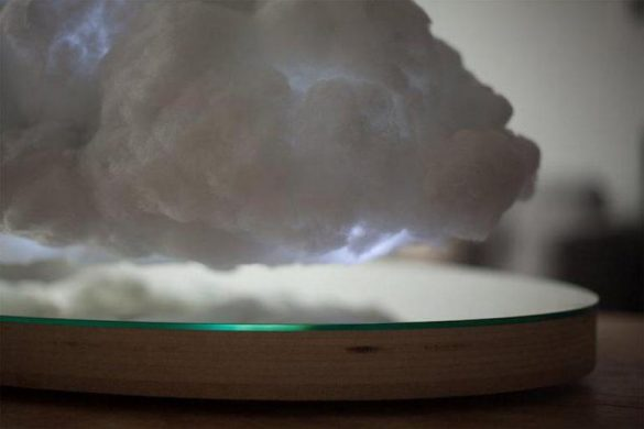 Floating Storm Cloud Speaker