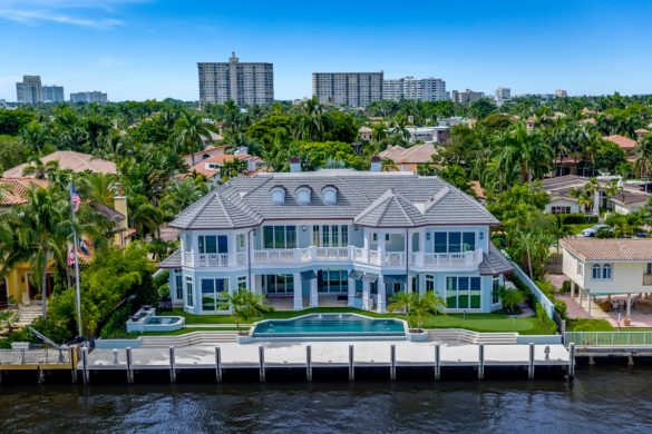 Fort Lauderdale's Newly Constructed Waterfront Property