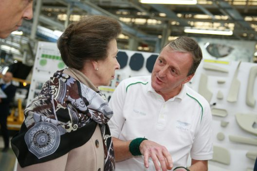 HRH The Princess Royal Opens New Bentley Centre