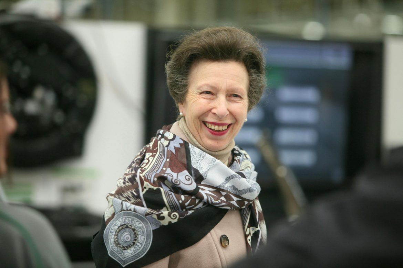 HRH The Princess Royal Opens New Bentley Centre