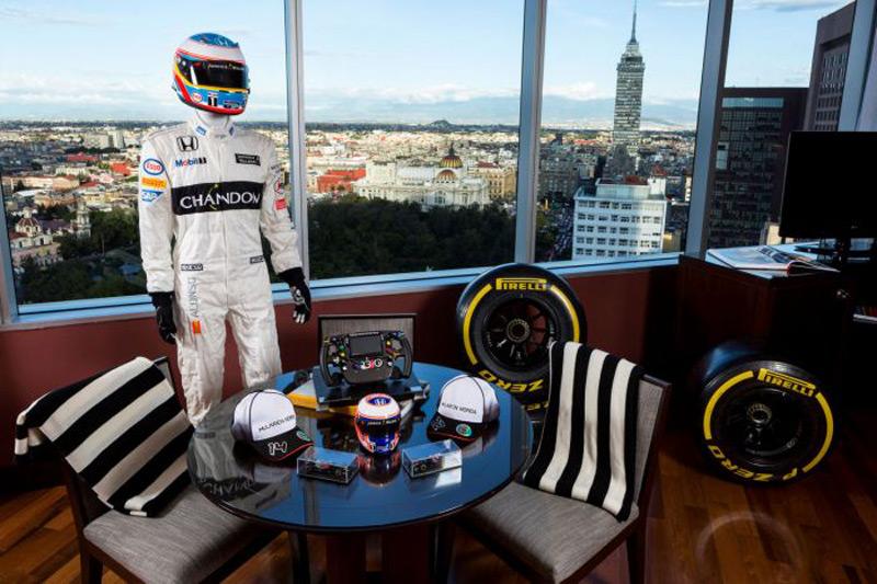 McLaren-Honda Formula 1 Themed Suite