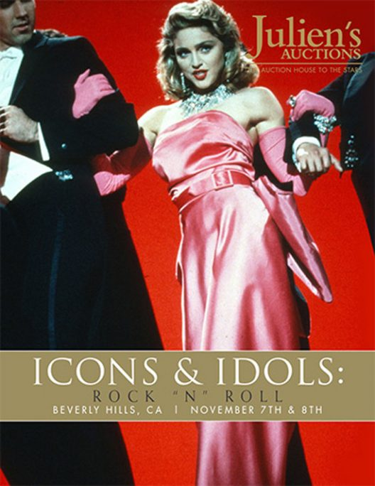Icons & Idols: Rock N' Roll At Julien's Auctions