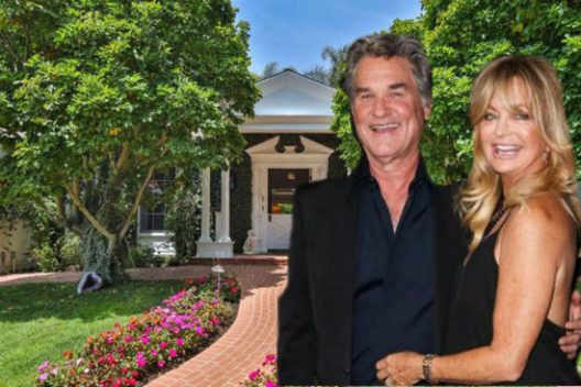 Kurt Russell and Goldie Hawn's Pacific Palisades Mansion
