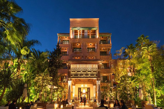 La Mamounia Hotel in Marrakesh