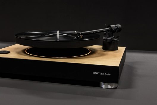 Levitating Turntable