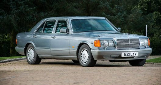 King Hussein's Armored Mercedes
