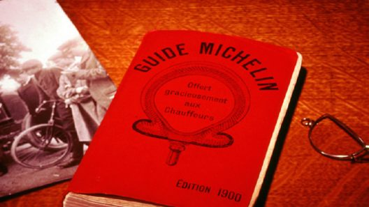 108 Michelin Guides