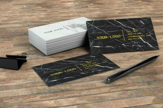 Marble Business Cards