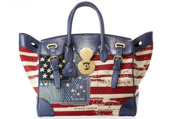 Ralph Lauren's American Flag Ricky Bag