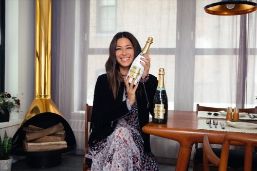 Moet Chandon by Rebecca Minkoff