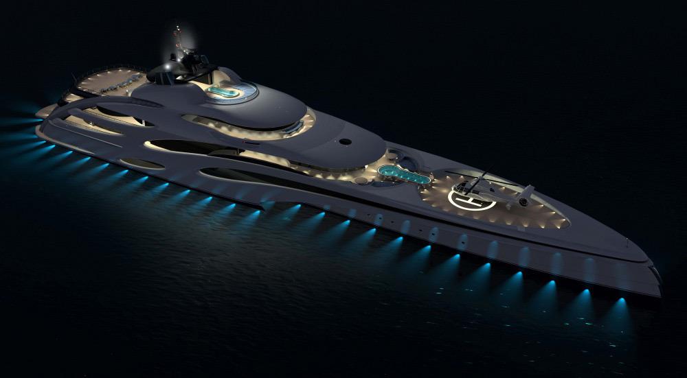 Trimaran Superyacht By Echo Yachts