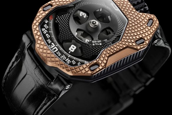 Urwerk UR-105 'Raging Gold'