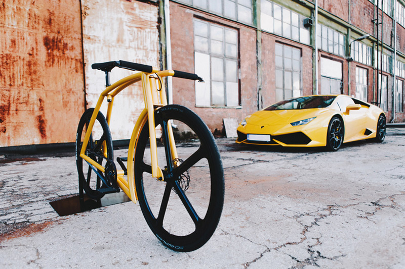 Viks GT Bike Inspired By Lamborghini