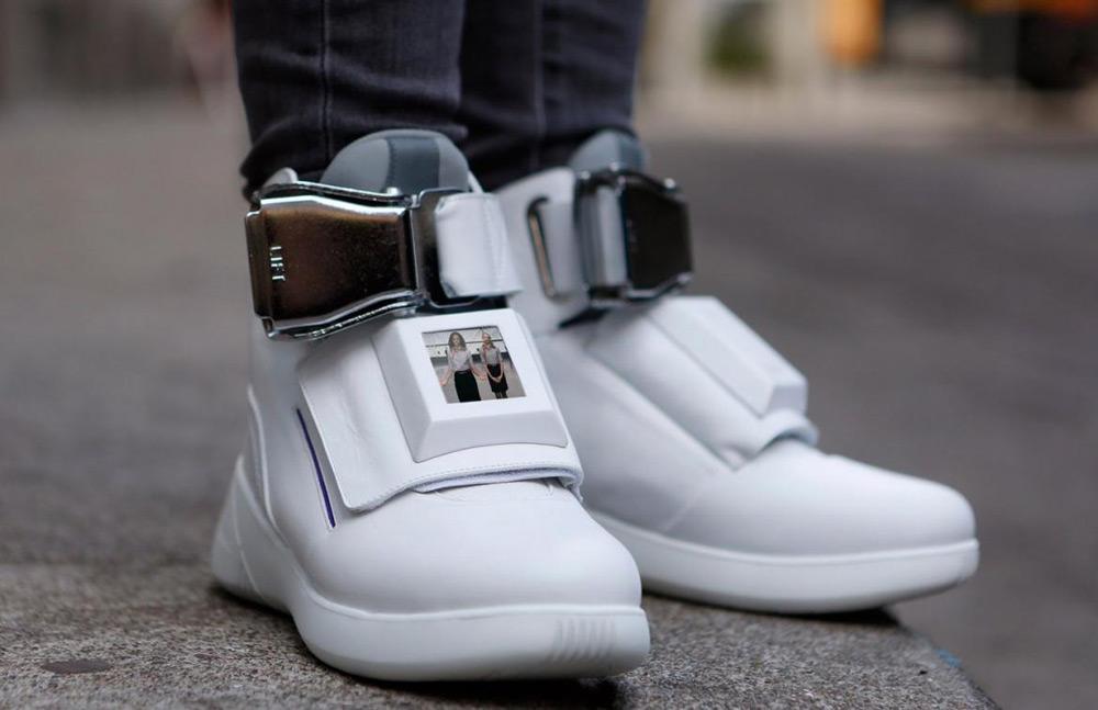 Virgin America's Sneakers