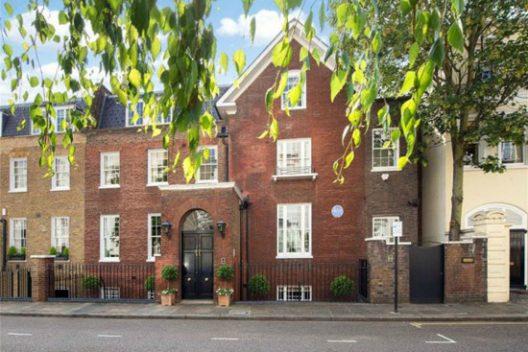 Winston Churchill's Kensington Home