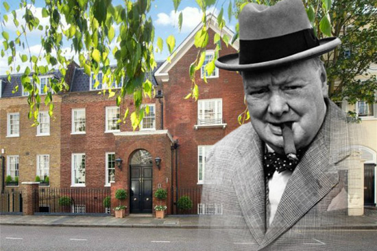 Winston Churchill's Kensington Home