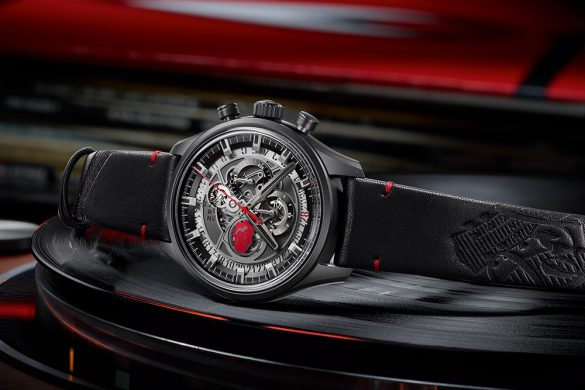 Zenith El Primero Skeleton Tribute To The Rolling Stones