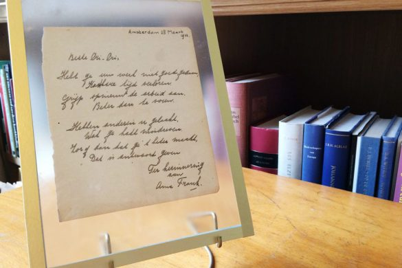 Anne Frank Poem