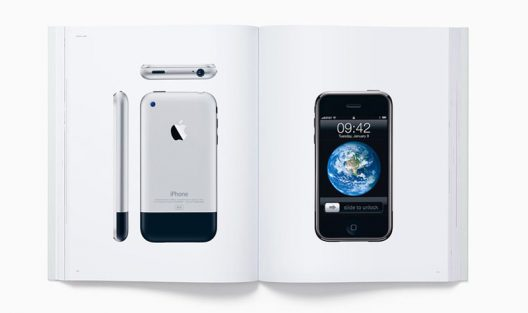 Coffee Table Book Designed by Apple in California