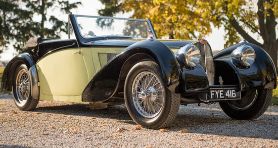 Bugatti Type 57S Cabriolet Goes Under The Hammer