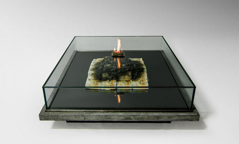 Dining Room Table That Burns Money