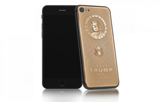 Donald Trump Gold Plated iPhone 7
