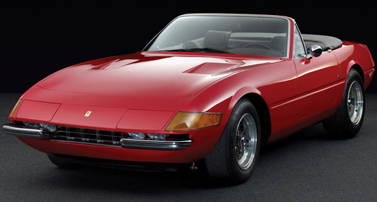 Ferrari Daytona Spyder At Auction